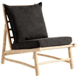 Bamboo Chair with Cushions | Phantom
