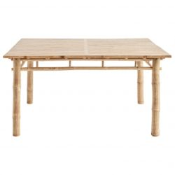 Bamboo Dining Table 150 x 150