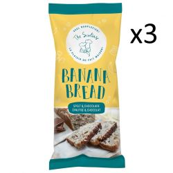 Banana Bread 350 g Set of 3 | Spelt & Chocolate