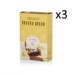 Banana Bread 295 g Set de 3 | Double Chocolat