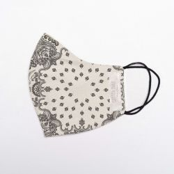 Face Mask | Foulard Ecru