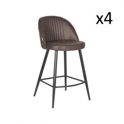 Barstool Tyler | Anthracite | Set of 4