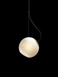 Hängeleuchte Barocco | Schwarzes Kabel