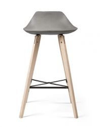 Bar Chair Hauteville | Plywood & Concrete