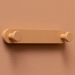 Coat Hanger Base Hooks | Coral | Set of 3