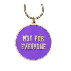 Reversible Necklace | Not for Everyone + Reserved