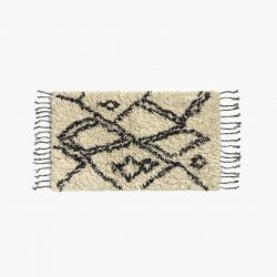 Bath Mat Safro | Natural/Black