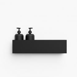 Storage Bath Shelf 40 cm | Black