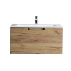 Bathroom Cabinet with Sink | Light Wood