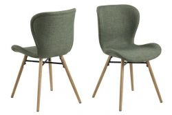 Set of 2 Chairs Bondy | Green
