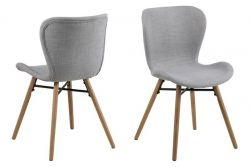 Chair Bondy Set of 2 | Light Grey
