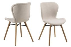 Chair Bondy Set of 2 | Sand