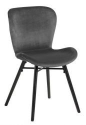 Chair Bondy | Dark Grey | Set of 2