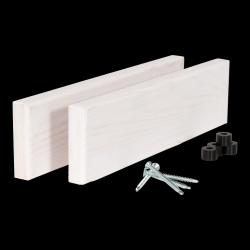 Seiten für  Balkonbar Kiefernholz | Weiß