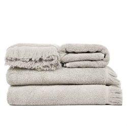 4er-Set Handtücher | Taupe