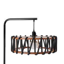 Stehleuchte Macaron 45 cm | Schwarz / Schwarz
