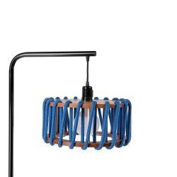 Stehleuchte Macaron Schwarz 30 cm | Blau