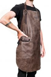 Leather BBQ Apron Baltimore | Rosewood