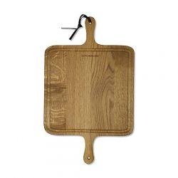BBQ Board XL Vierkant | Eikenhout