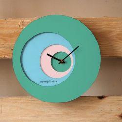 Basics Clock | Turquoise