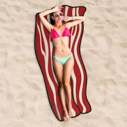 Beach Towel | Bacon