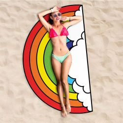 Beach Towel | Rainbow