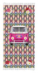 Serviette de Plage Camionnette Hippie