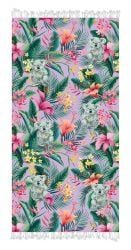 Serviette de Plage Koala Tropical