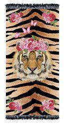 Serviette de Plage Lys Tigre