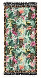 Serviette de Plage Tigre Tropical