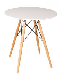 Table d'Appoint Manda Ø 80 cm | Blanc