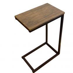 Table d'Appoint Beat | Métal/Bois