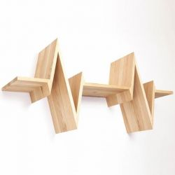 Wandplank Beat-shelf | Essenhout