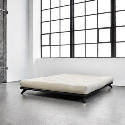 Bed Senza + Comfort Mattress | Black