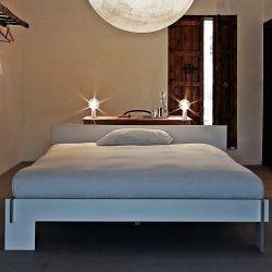 Siebenschläfer Bed | Wit met Hoofdeinde