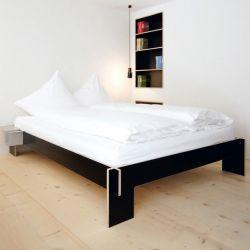 Siebenschläfer Bed | Zwart