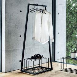 Garderobenständer Lume | Schwarz