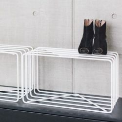 Shoe Stand Lume | White