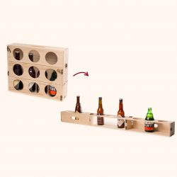 2-in-1  Beer Storage Box & Beer Meter Beer Gear