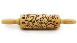 Engraved Rolling Pin | Bees