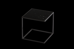 Side Table NOA Steel Frame & Marble | Black