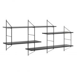 Wall Unit System Mira Large | Black