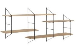 Wall Unit System Mira Large | Natural
