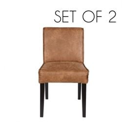 Rodeo Chaise Set de 2 | Cognac