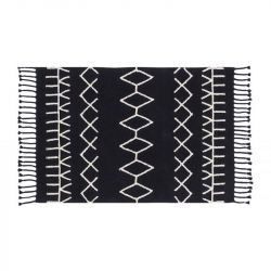 Washable Rug | Bereber Black