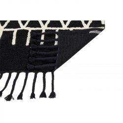 Washable Rug | Bereber Black