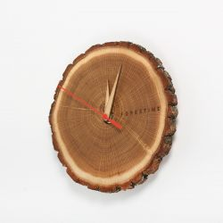Wall Clock Forestime | Wood