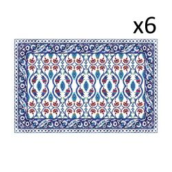 Vinyl Placemats Armenië Set van 6