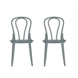 Außenstühle Bibi Set de 2 | Grün