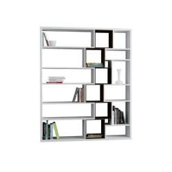 Book Shelf Roscoe | White & Wengé